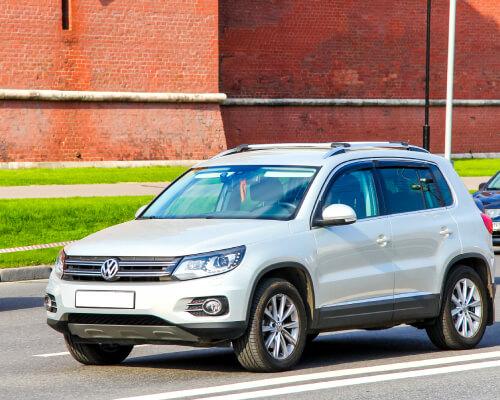 Volkswagen Car on Road