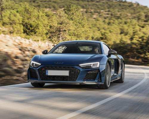 Audi Car on Road