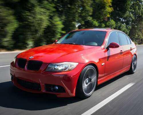 BMW Car on Road