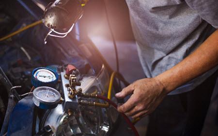 Jaguar AC System Maintenance